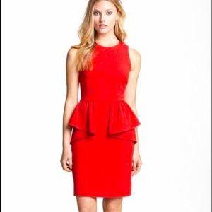 Michael Kors sleeveless peplum dress